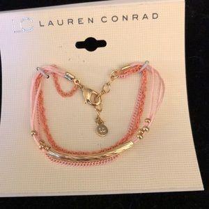 Orange chain bracelet